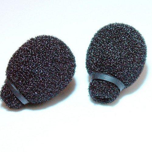Rycote 105504 Miniatuur Lavalier Schuim - Zwart (Pak van 2)