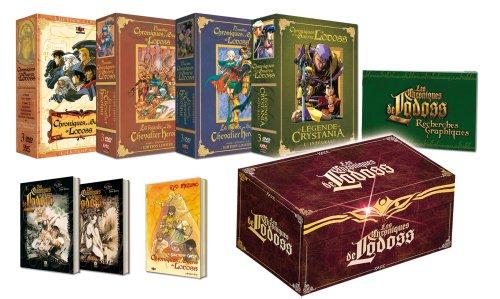 Lodoss intégrale - Edition Collector Limitée 12 DVD
