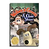 Wallace and Gromit in A Close Shave Movie Poster Decorative Painting Canvas Wall Art Living Room Posters Bedroom Painting 24×36inch(60×90cm)
