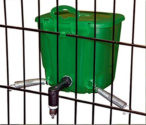 Kerbl 74206 Kaninchentränke 500 ml Kunststoff, grün - 3