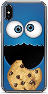 iPhone XR Case Anti-Scratch Television Show Transparent Cases Cover 13 Who's That Cookie Monster Tv Shows Series Crystal Clear