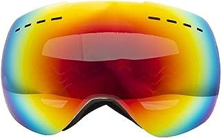 Dames skibril volwassen dubbele spiegel breed zicht anti-sneeuw blind//permanente anti-condens/winddichte bergski's grote ...