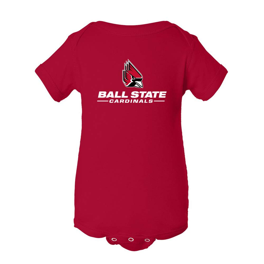 Official NCAA Ball State University Cardinals RYLBLS06 Mens//Womens Premium Triblend T-Shirt