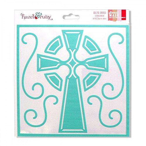 Kole Imports Celtic Cross Stencil Mask