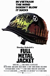 Pop Culture Graphics Full Metal Jacket (1987) - 11 x 17 - Style A