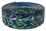 Lizard Skins li9700.Yam Cinta de Manillar de Bicicleta Unisex, Azul/Verde, 3,2mm