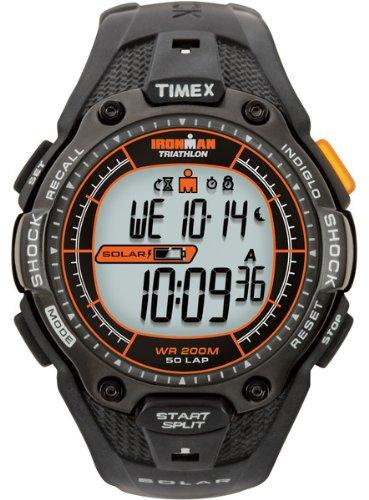 Timex Herren Ironman Triathlon 50Lap stoßfest Solar Armbanduhr–t5j641p4