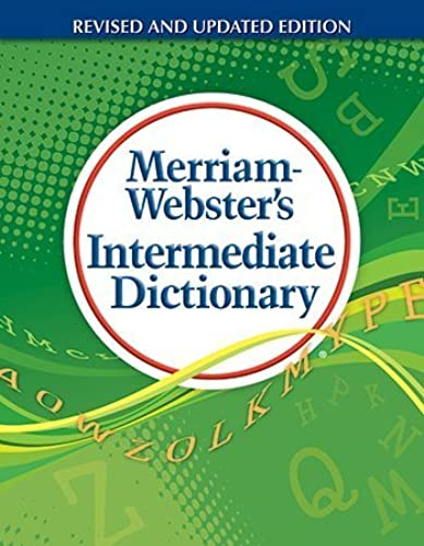 MER6794 - Merriam-Webster Student Dictionary Dictionary Printed Book by Merriam-Webster