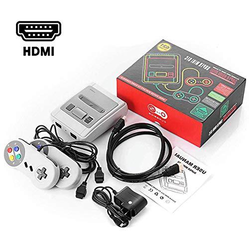 O RLY Retro Classic Mini Console HDMI - Wird mit Zwei Bediengriffen geliefert - 621 Klassische Videospiele