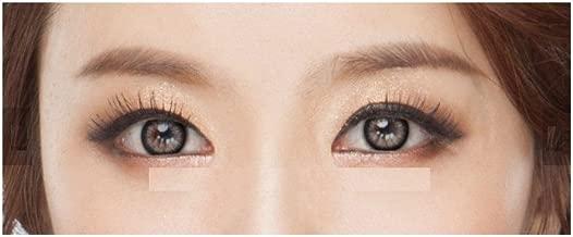 lentilles de Couleur Lolly Grandes Grande Taille sans Correction Fantaisie annuelles valables 1 an Noir Gris Vert Bleu Marron Violet 7 Couleurs au Choix