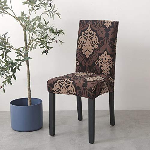 JPDP Fundas de impresión tamaño Universal Fundas para sillas Fundas para sillas Protector Fundas para Asientos para Banquetes de Hotel decoración de Bodas en casa 06