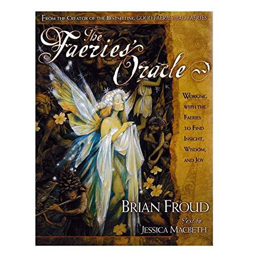 chivalrylist Oracle-kaarten van Faeries - 66 stuks - Fairy Paper Tarot Cards - Prachtig vormgegeven, duurzaam