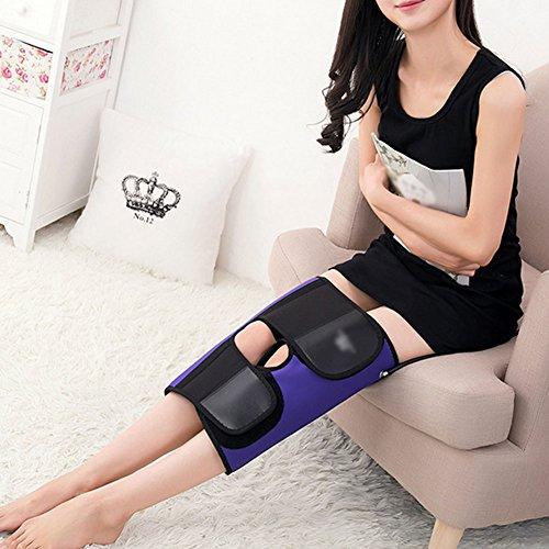 WANGXN Beinkorrektur Für Erwachsene Bein Beinschiene XO Leg Correction Band,Purple,Universalsize