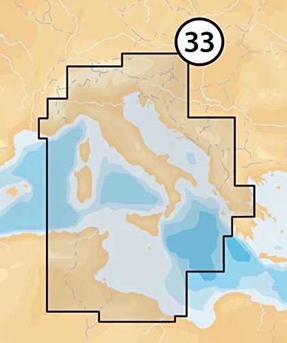 Navionics - Platinum+ - 33P+ Central. Mediterranean, CF-Kart