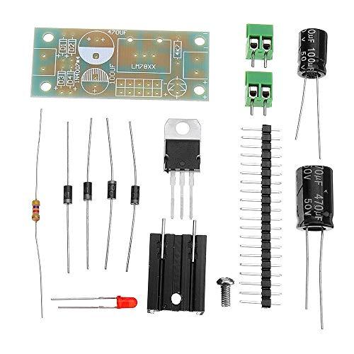 PIKA PIKA QIO Kompatibel DIY-Kit, 20 stücke Modul 5 V Spannungsreglermodul Kit DIY LM7806 / LM7809 / LM7815 DREI Terminal Regler Modul