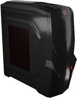 Mars Gaming MC416, caja PC Micro ATX, ventana acrílica LED rojo, 7 slot, USB 3.0