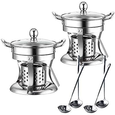 2 Set Shabu Shabu Hot Pot, Chinese Hot Pot, Thi...