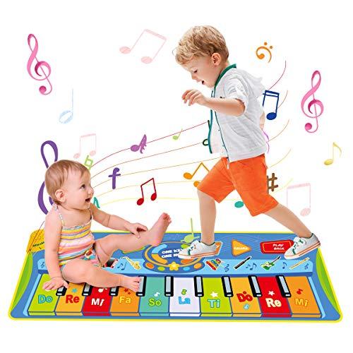 LEADSTAR Giochi Bambini 2 Anni, Tappeto Musicale...