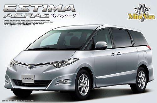 Aoshima Bunka Kyozai 1. 2.4. Minivan No.1.5. Estima aeras '06. G-Paket