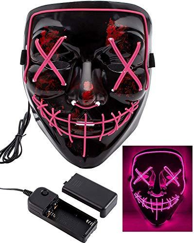 Halloween Masks for Adults Led Purge Mask...