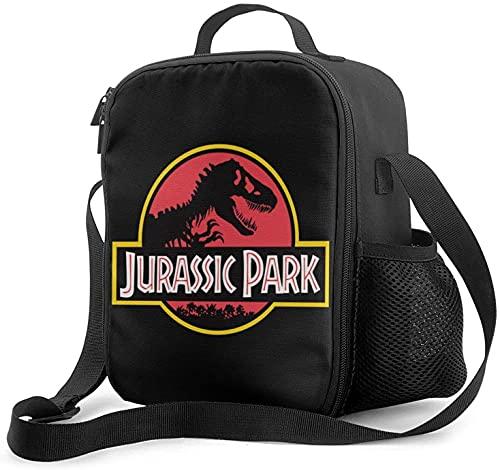 Jurassic World - Bolsa de almuerzo con aislamiento térmico para el trabajo escolar, picnic, organizador de almuerzo
