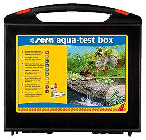 sera 4002 Test Box Aquarium cu/kupfer