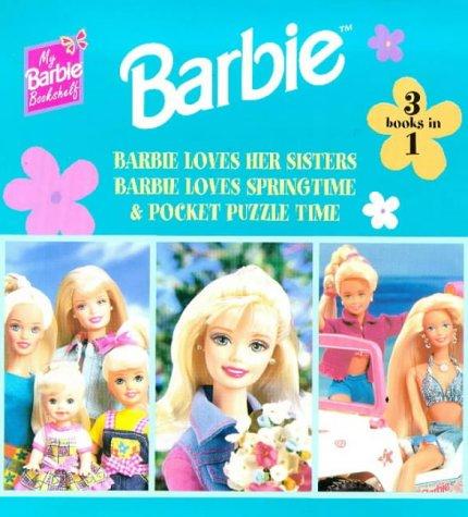 Barbie: 'Hawaiian Holiday', 'Pocket Puzzle Fun', 'The Dream' (My Barbie Bookshelf S.)
