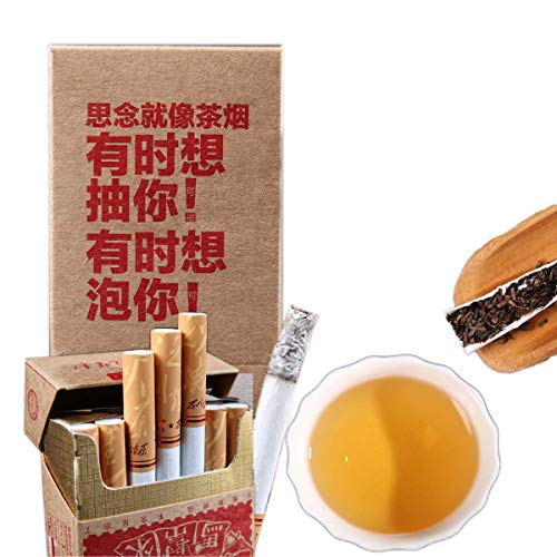Mabanglai puerh Tee Zigaretten kein Tabak kein Nikotin Pu'er Tee Grüner Tee Chinesischer Pu er Tee Roher Tee Alter Baum Pu erh Tee Nettogewicht 30g / Beutel (1)