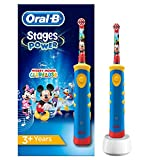 Oral-B Stages Power Kids de Mickey Mouse - Cepillo de dientes...