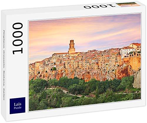 Lais Puzzle Pitigliano, Grosseto, Toscana, Italia 1000 Piezas