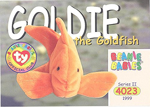 BBOC Cards TY Beanie Babies Series 2 Common - Goldie The Goldfish