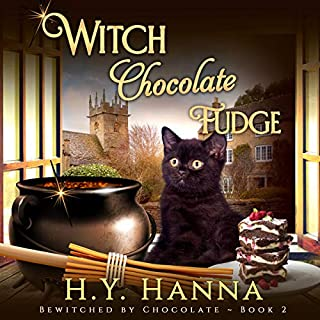 Witch Chocolate Fudge     Bewitched by Chocolate Mystery Series, Book 2              By:                                                                                                                                 H.Y. Hanna                               Narrated by:                                                                                                                                 Pearl Hewitt                      Length: 6 hrs and 12 mins     26 ratings     Overall 4.5