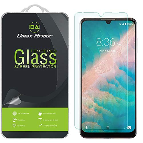 (2 Pack) Dmax Armor for ZTE Blade 10 and Blade 10 Prime Tempered Glass Screen Protector