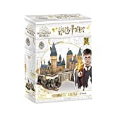 World Brands- Harry Potter-Castillo de Hogwarts Puzzles 3D, Kit de Construcción, Multicolor (Cubic...