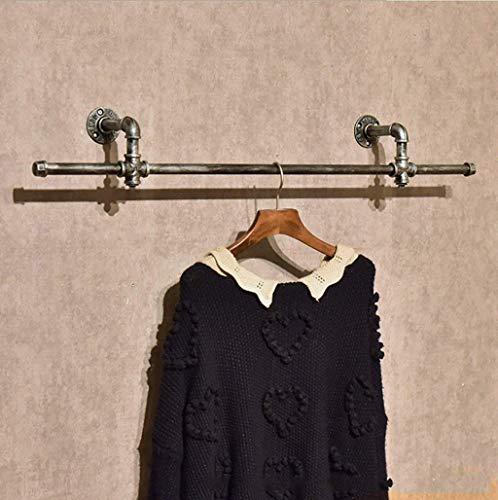 M-J Vintage kleding Hang Rack op kleding Stijlvolle eenvoud Handdoek Rack Vintage IJzeren Wanddoek Hanger Kleding Winkel Kleding Rack Grootte: 15 * 13 * 94Cm, b