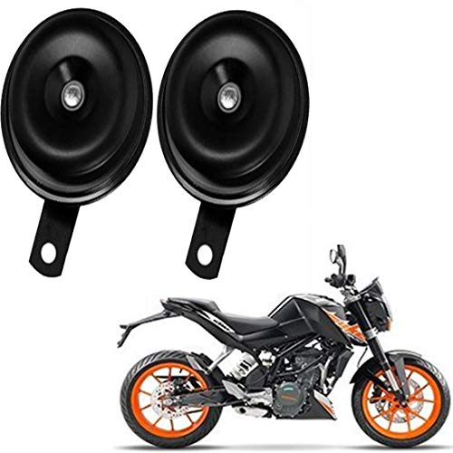 Rawat (BALKO) Primium Quality Bike Horn with 1 Year Replacemant Warranty (Set of 2) for KTM Duke 200