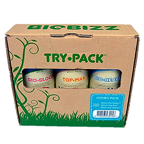 BioBizz Try·Pack Kit Coltivazione Hydro