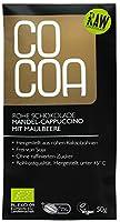 COCOA オーガニックアーモンドカプチーノ・マルベリー・ローチョコレート 50g