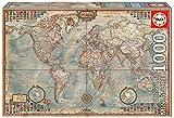Educa - El Mundo, mapa político Miniature Puzzle, 1000 Piezas, multicolor (16764)
