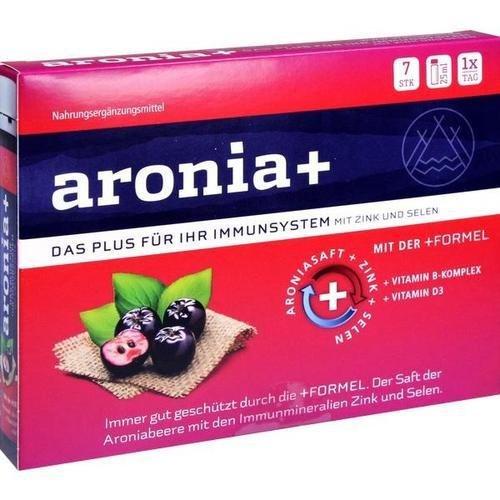 ARONIA+ IMMUN Trinkampullen 7X25 ml