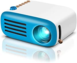 GooDee Mini Projector, LED Pico Projector, Pocket Video Projector Support HDMI Smartphone..