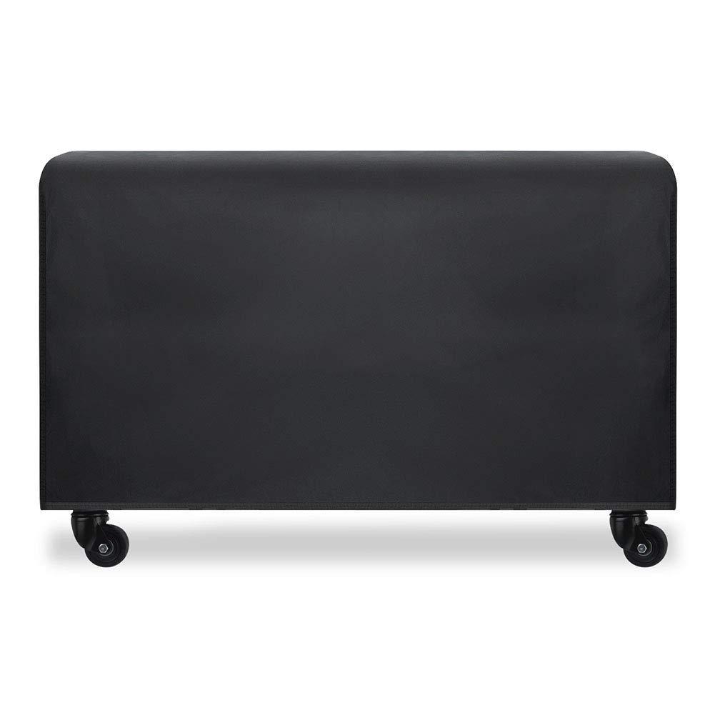 CATRP-lonas Fundas para Muebles De Jardín Rectangular Cubierta De Mesa Exterior Impermeable Funda De Protección,Negro (Size : 270x180x89cm): Amazon.es: Hogar
