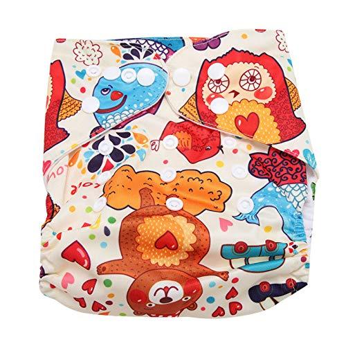 Meiyya Pañal para Nadar para bebés, pañal Reutilizable para bebés práctico y cómodo para Llevar al bebé para Sacar a tu bebé(BL003)