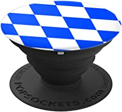 Bavaria Munich German Pattern Beer Fest Party Flag Gift  PopSockets Grip and Stand for Phones and Tablets
