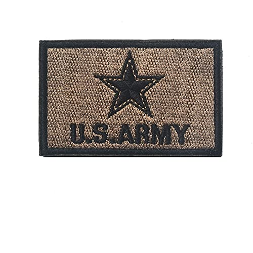 Parches para Ropa Signo del ejército Bordado Brazalete mágico Dispositivo Militar Famoso striknes (2PCS) 8 × 5 CM (Color : 5)