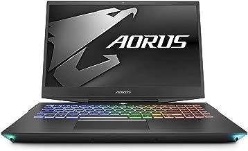 CUK Gigabyte AORUS 15 Thin Gamer Notebook (Intel i7-9750H, 32GB RAM, 512GB NVMe SSD + 1TB HDD, NVIDIA GeForce RTX 2070 8GB, 15.6
