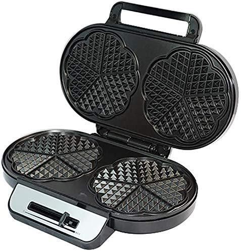 Wafelijzer wafel machine, wafelijzer verwijderbare platen Sandwich Cookies, Hash Browns