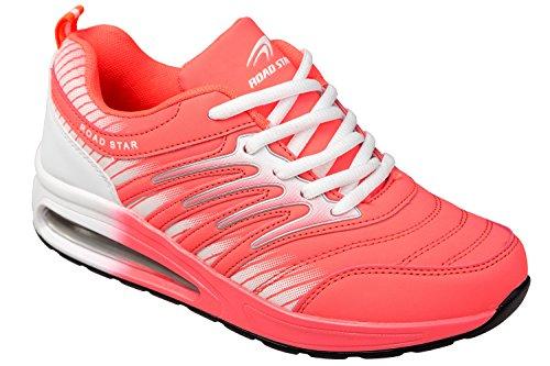 gibra Sportschuhe, sehr leicht und bequem, pink/weiß, Gr. 39