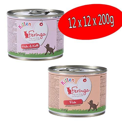 Feringa Menu Gatito Mixto Pack: 2 variedades – 24 x 200 g
