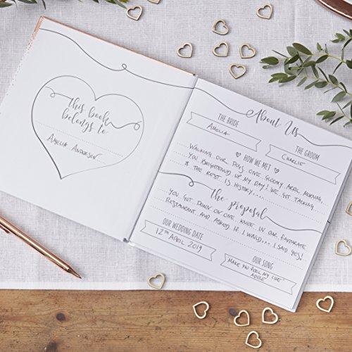 Ginger Ray Hochzeitsplaner, roségold - 2